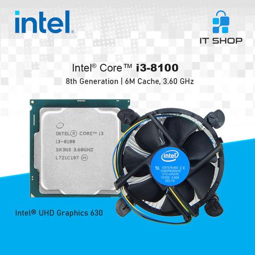 Foto Produk Processor Intel Core i3 8100 LGA 1151 - Tray dari IT-SHOP-ONLINE