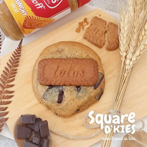 Foto Produk Biscof Lotus Chocolate Soft Cookies Original dari Square O'kies