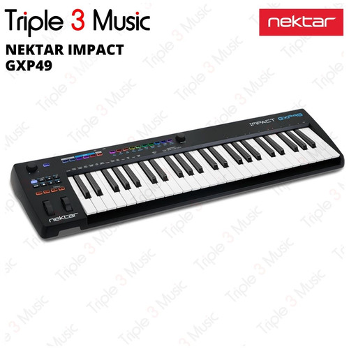 Foto Produk NEKTAR Impact GXP49 Midi controller 49 keys dari triple3music