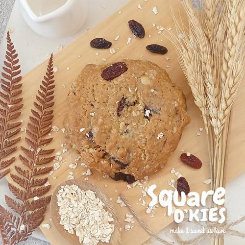 Foto Produk Oat Raisin Chocolate Soft Cookies Original dari Square O'kies
