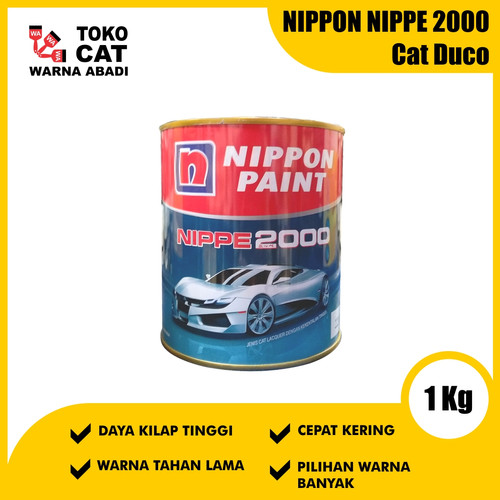 Foto Produk Cat Duco Nippe 2000 1 Kg dari Toko Cat Warna Abadi