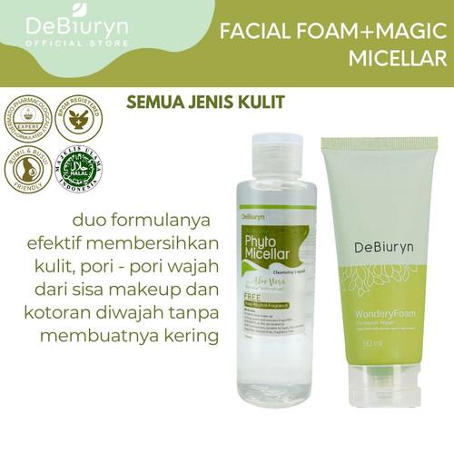 Foto Produk Fresh Look New Normal Kit - Phyto Micellar Water - Wondery Foam dari Debiuryn Dermacosmetics