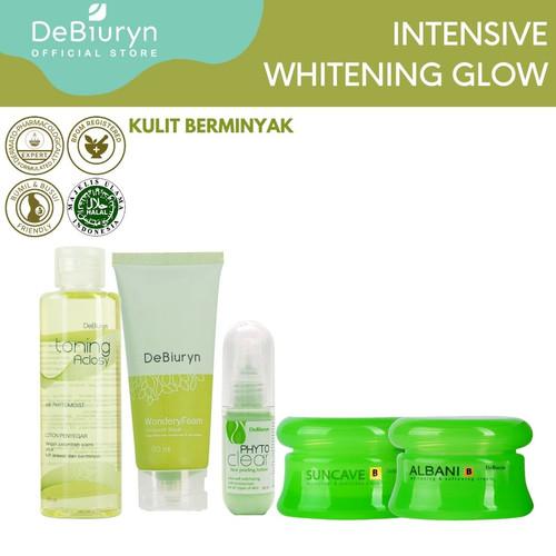 Foto Produk DeBiuryn Intensive Whitening Glow Face Care - Kulit Berminyak dari Debiuryn Dermacosmetics