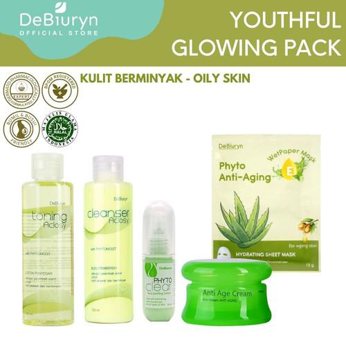 Foto Produk Youthful Glowing Pack - Anti Aging Series - Kulit Berminyak dari Debiuryn Dermacosmetics