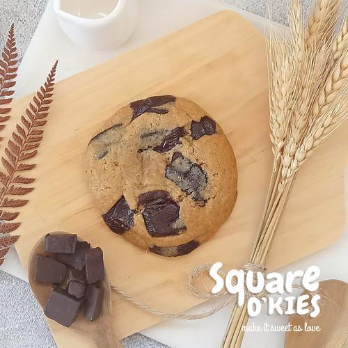 Foto Produk Chocolate Soft Cookies Original - Regular dari Square O'kies