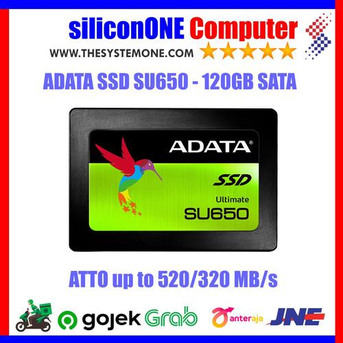 Foto Produk ADATA SSD 120GB SU650 dari silicon ONE Computer