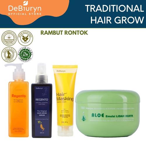 Foto Produk DeBiuryn Traditional Pack Hair Loss - Paket Perawatan Rambut Rontok dari Debiuryn Dermacosmetics