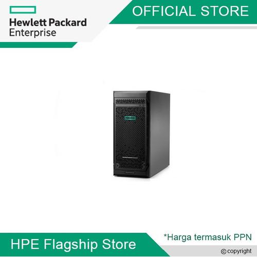 Foto Produk ML110 G10 4208 - SILVER 8 CORE 2.1GH, 32GB, SSD SATA 960GB, RPS, KM dari HPE Flagship Store