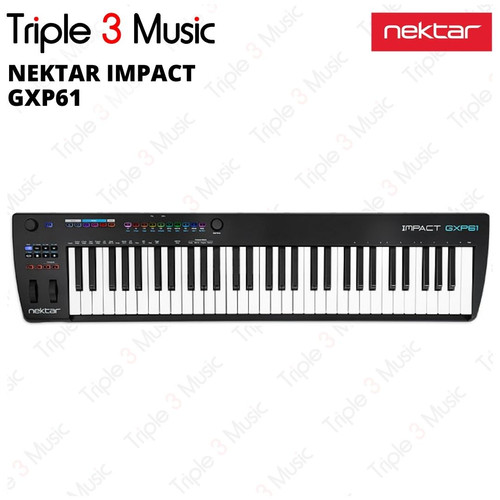 Foto Produk NEKTAR Impact GXP61 Midi controller 61 keys dari triple3music