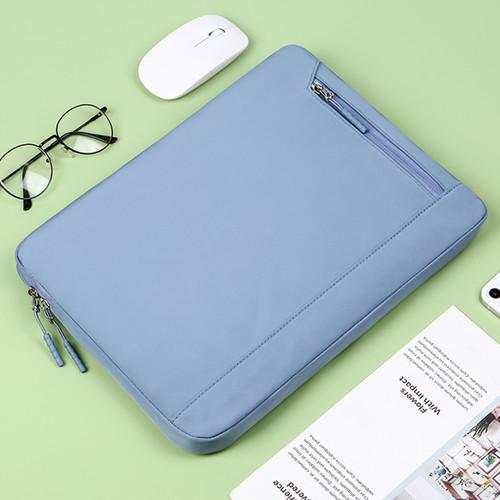 Foto Produk Sarung Laptop Impor Sleeve Case Waterproof 13 14 15 Inch - Biru, 13-13.3 Inch dari KRUGEER