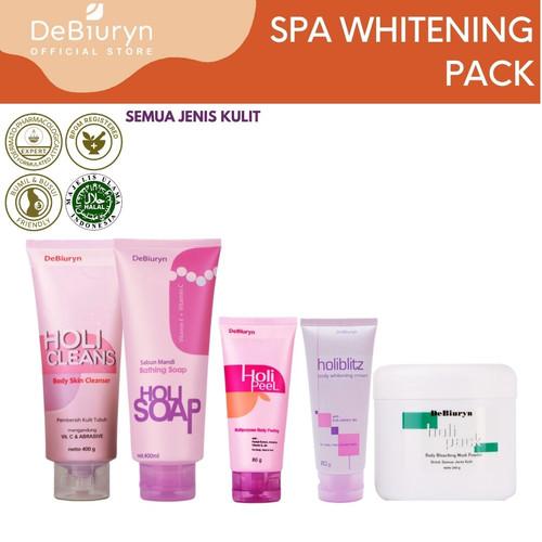 Foto Produk DeBiuryn SPA Whitening Pack | Skin Care Mask Foam Peeling Cream dari Debiuryn Dermacosmetics
