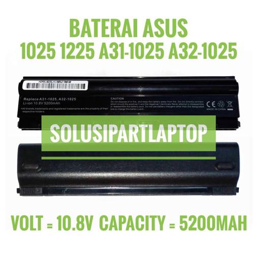Foto Produk Baterai Laptop ASUS Eee PC 1025, 1025C, 1025E, 1225 High dari SolusiPartLaptop