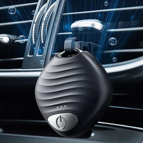 Foto Produk Kalung Air Purifier Mini Bisa Digantung Di mobil dengan 30 juta ion - Putih dari GNE Product