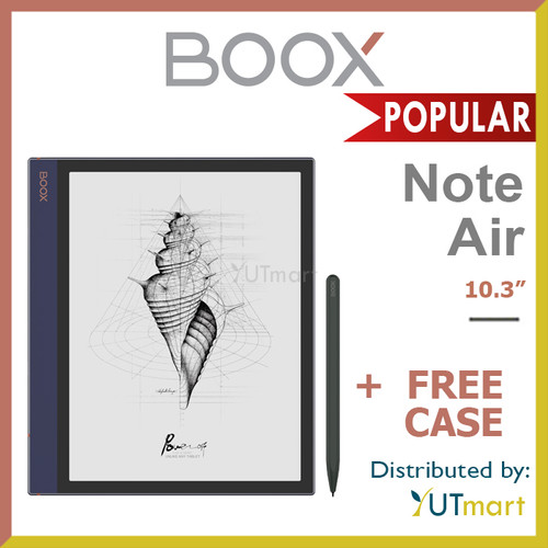Foto Produk ONYX BOOX Note Air 10.3 inch Android E Ink Reader dengan Wacom Stylus dari YUTmart