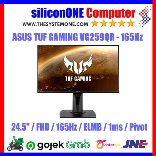 Foto Produk ASUS TUF GAMING VG259QR FHD IPS 165Hz 1ms ELMB GSYNC Compatible dari silicon ONE Computer