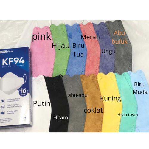 Foto Produk Masker Medis KF 94 Seven Plus 4 Ply Earloop ( 10 pcs ) - Putih dari Toko Susu Mom n Kids