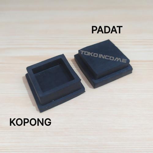 Foto Produk Kaki Karet Kotak 40 X 40 / Tutup Pipa Hollow dari Toko Income