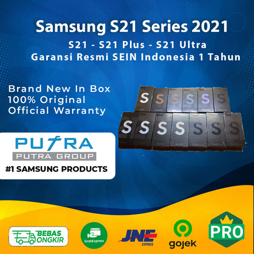 Foto Produk (RESMI) Samsung S21 Ultra 256GB 512GB Garansi Indonesia S21 Plus + S21 - S21 128GB, Silver dari Putra Group