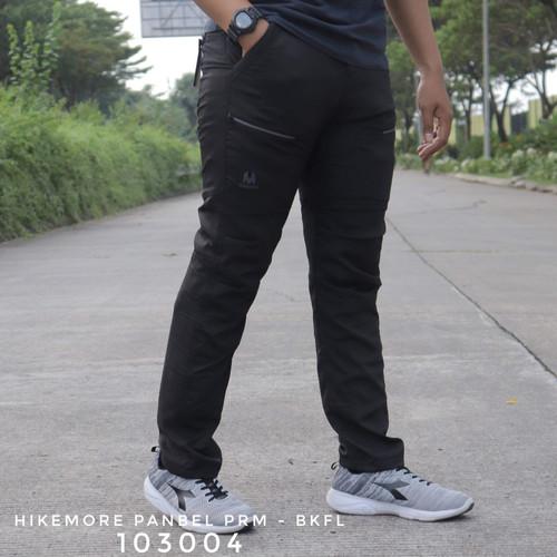 Foto Produk Celana Panjang Cargo Gunung Quick Dry Razzor Panbel Premium - Hitam, M dari Komo Outdoor