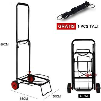 Foto Produk Troley Troli Lipat Bawa Aqua Galon dan Gas Trolley Barang Serbaguna dari bosQ88