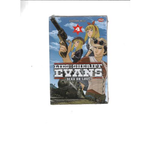 Foto Produk LIES OF THE SHERIFF EVANS-DEAD OR LOVE 1-4 -UR dari Toko Buku Uranus