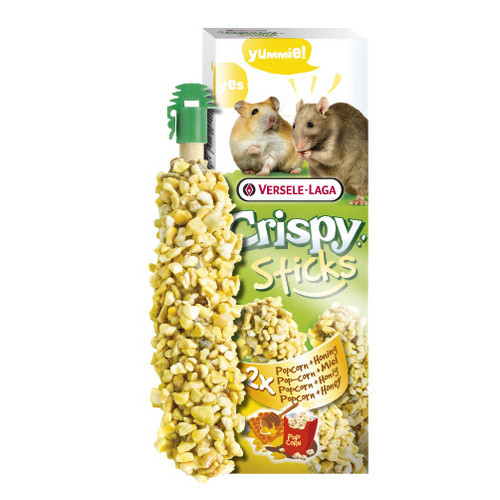 Foto Produk Versele Laga Crispy Sticks Honey 110gr Snack Cemilan Hamster Gerbil - EXP 2022-08 dari Hime petshop