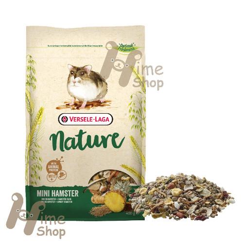 Foto Produk Versele Laga Nature Mini Hamster 400gr Food Makanan Campbel Roborovski - EXP 2022-08-23 dari Hime petshop