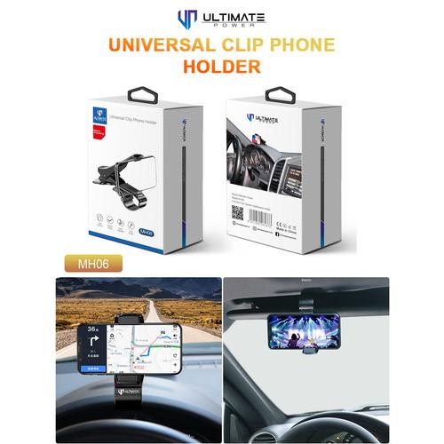 Foto Produk Ultimate Universal Clip Phone Car Holder MH06 dari Ultimate Power Official