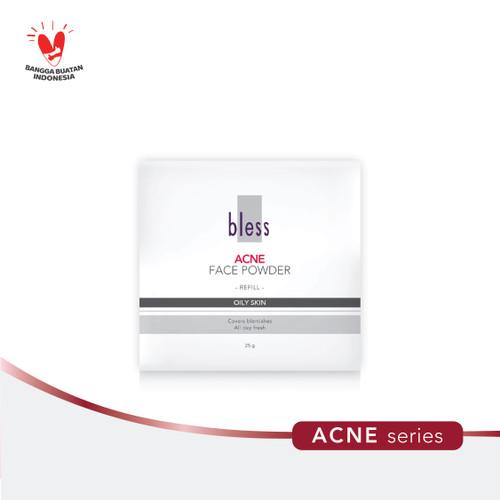 Foto Produk Bless Cosmetics Refill Acne Face Powder - Ivory dari Bless Cosmetics ID