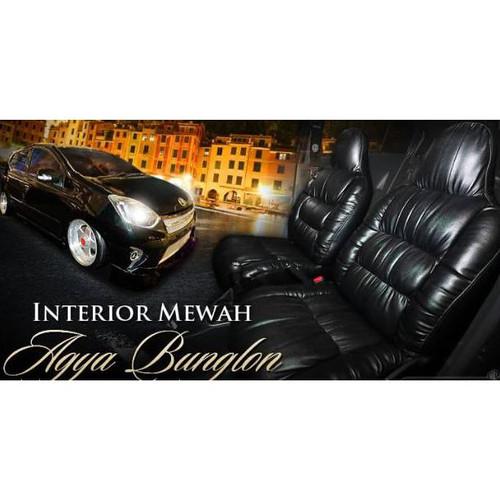Foto Produk Sarung jok mobil agya ayla datsun brio motif sofa kulit sintetis dari 89ANANTA