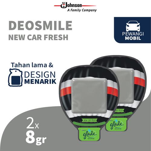 Foto Produk [TWIN PACK] Glade Deo Smile New Car Fresh 8g dari SC Johnson & Son ID