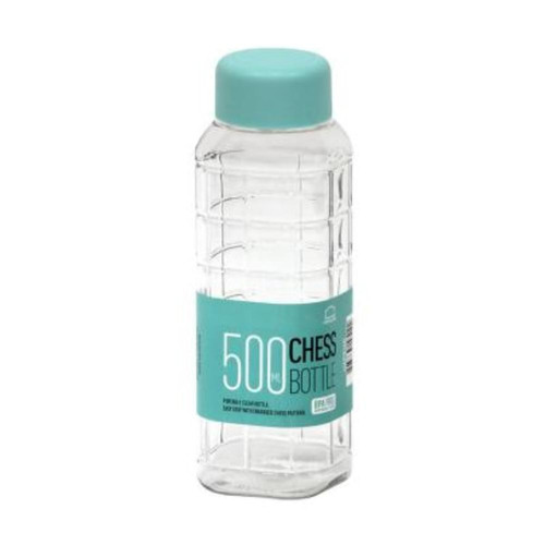 Foto Produk LocknLock Chess Water Bottle Botol Minum 500ml - Biru dari LocknLock Official