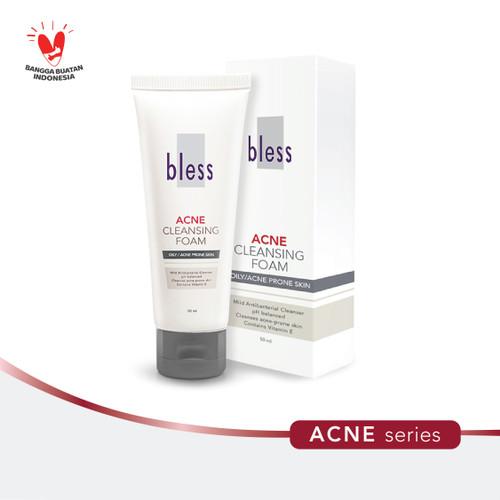 Foto Produk Bless Acne Cleansing Foam 50ml dari Bless Cosmetics ID