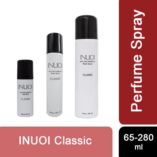 Foto Produk Paling laris 280ml INUOI parfum unisex (Putih, Classic) - Putih, 280ML dari Sisedapepade