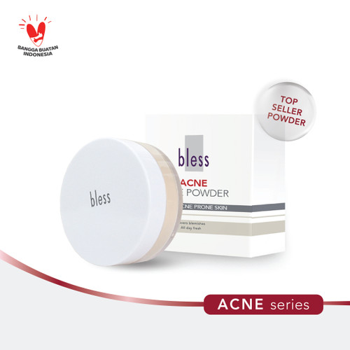 Foto Produk Bless Acne Face Powder 25 gr - BEIGE dari Bless Cosmetics ID
