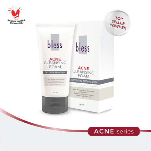 Foto Produk Bless Acne Cleansing Foam 100ml dari Bless Cosmetics ID