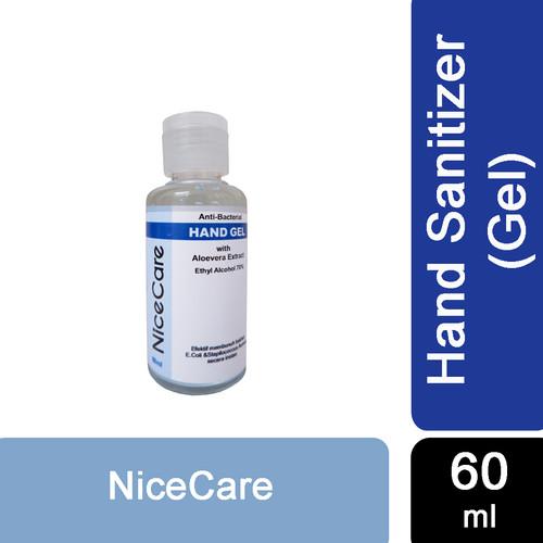 Foto Produk Nice Care Hand Sanitizer 1L - GEL 60ML dari Sisedapepade