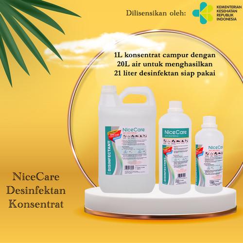 Foto Produk Desinfektan Food safe Nice Care 5Lt - 5L Konsentrat dari Sisedapepade