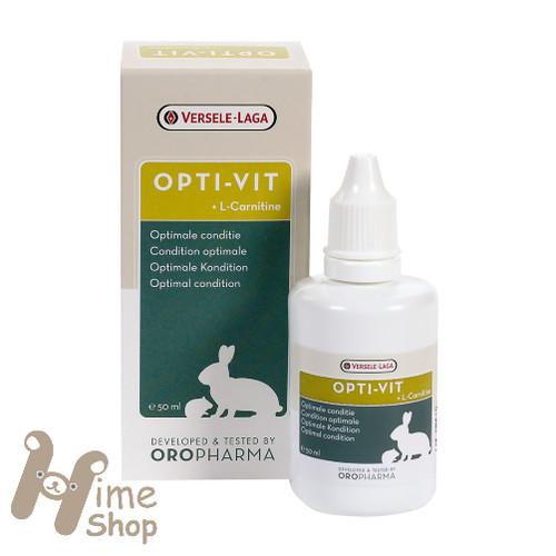 Foto Produk Versele Laga OPTI VIT 50ml Multi Vitamin Kelinci Hamster Marmut Rodent - EXP 2022-09 dari Hime petshop