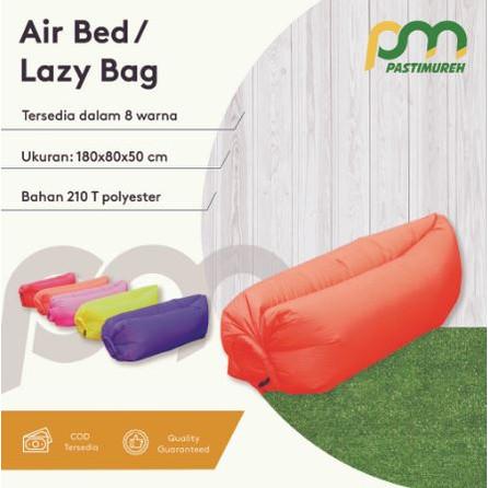 Foto Produk Brizio Air Bed / Lazy Bag / Air Sofa Bed / Kasur Angin Portable - Ungu dari PastiMureh_com