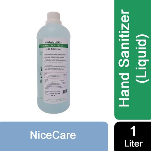 Foto Produk Nice Care Hand Sanitizer LIQUID - 1L dari Sisedapepade
