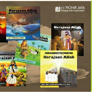 """Foto Produk """"Berjalan Dalam Kerajaan Allah"""" Paket Lengkap dari CV Pionir Jaya"""