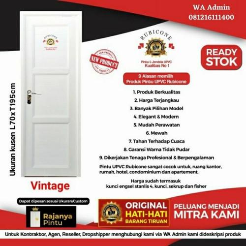 Foto Produk Pintu UPVC Rubicon Vintage - Engsel Kiri, Kunci Bulat Eng dari rajanyapintusby