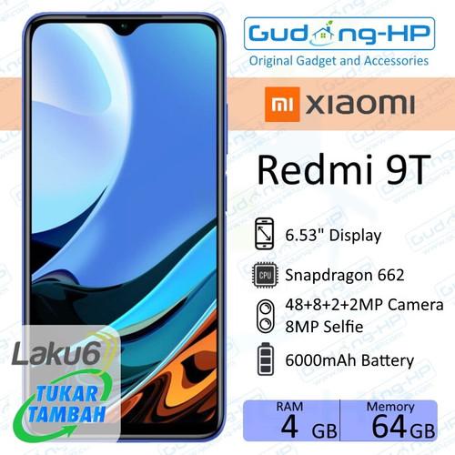 Foto Produk Xiaomi Redmi 9T 4/64 GB Garansi Resmi - Orange dari Gudang-HP