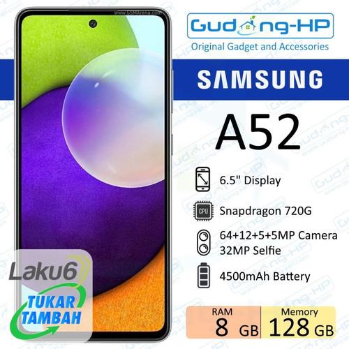 Foto Produk Samsung Galaxy A52 8/128 GB Garansi Resmi SEIN - Putih dari Gudang-HP