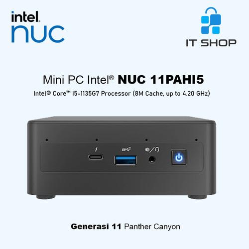 Foto Produk Intel Mini PC NUC 11PAHi5 kosongan dari IT-SHOP-ONLINE