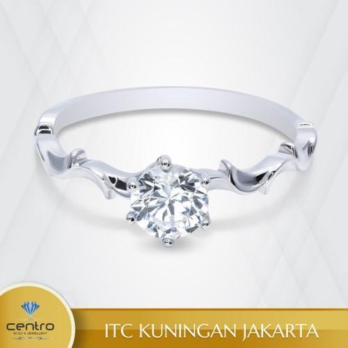 Foto Produk Cincin Emas Wanita TU0028 | Centro Jewellery dari Centro Jewellery
