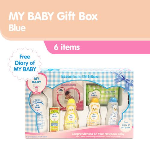 Foto Produk My Baby Gift Box Perawatan Kulit Bayi - Blue [600 g] dari Tempo Store Official