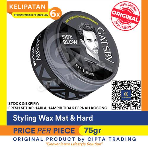 Foto Produk Pomade - Gatsby - Styling Wax Mat & Hard 75g dari Cipta Trading
