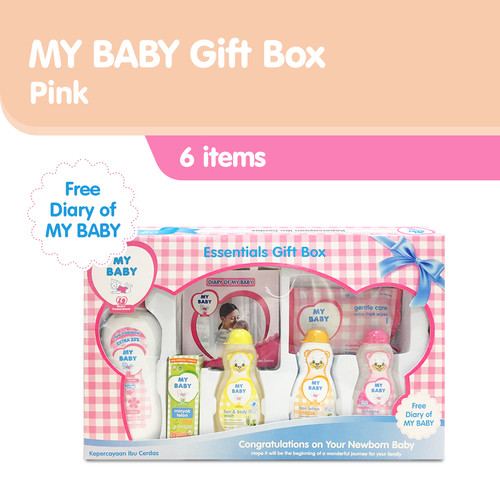 Foto Produk My Baby Gift Box Perawatan Kulit Bayi - Pink [600 g] dari Tempo Store Official